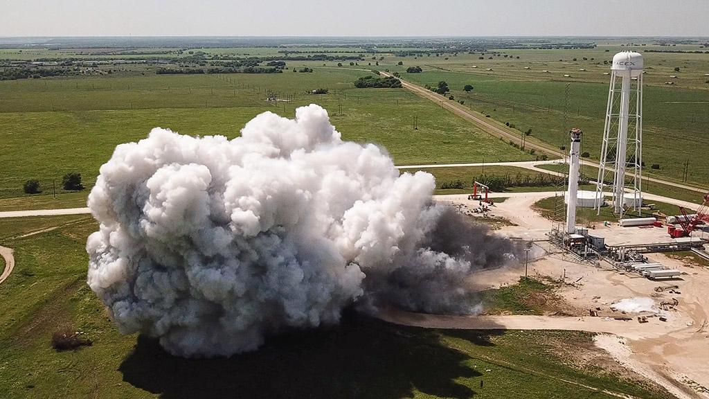 SpaceX static fire Crew-1 Falcon 9