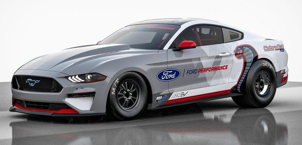 Ford's Tesla Roadster-rivaling electric Mustang drag racer shows what the Mach-E could have been
