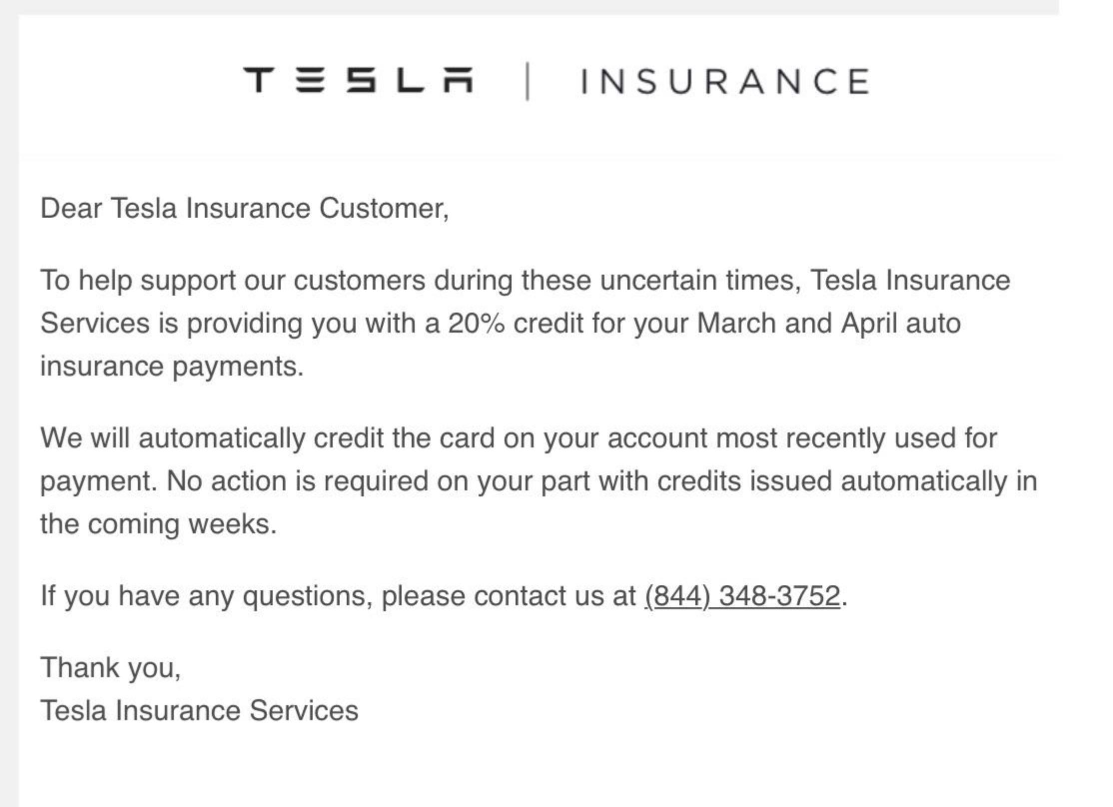 tesla-insurance-discount-covid-19