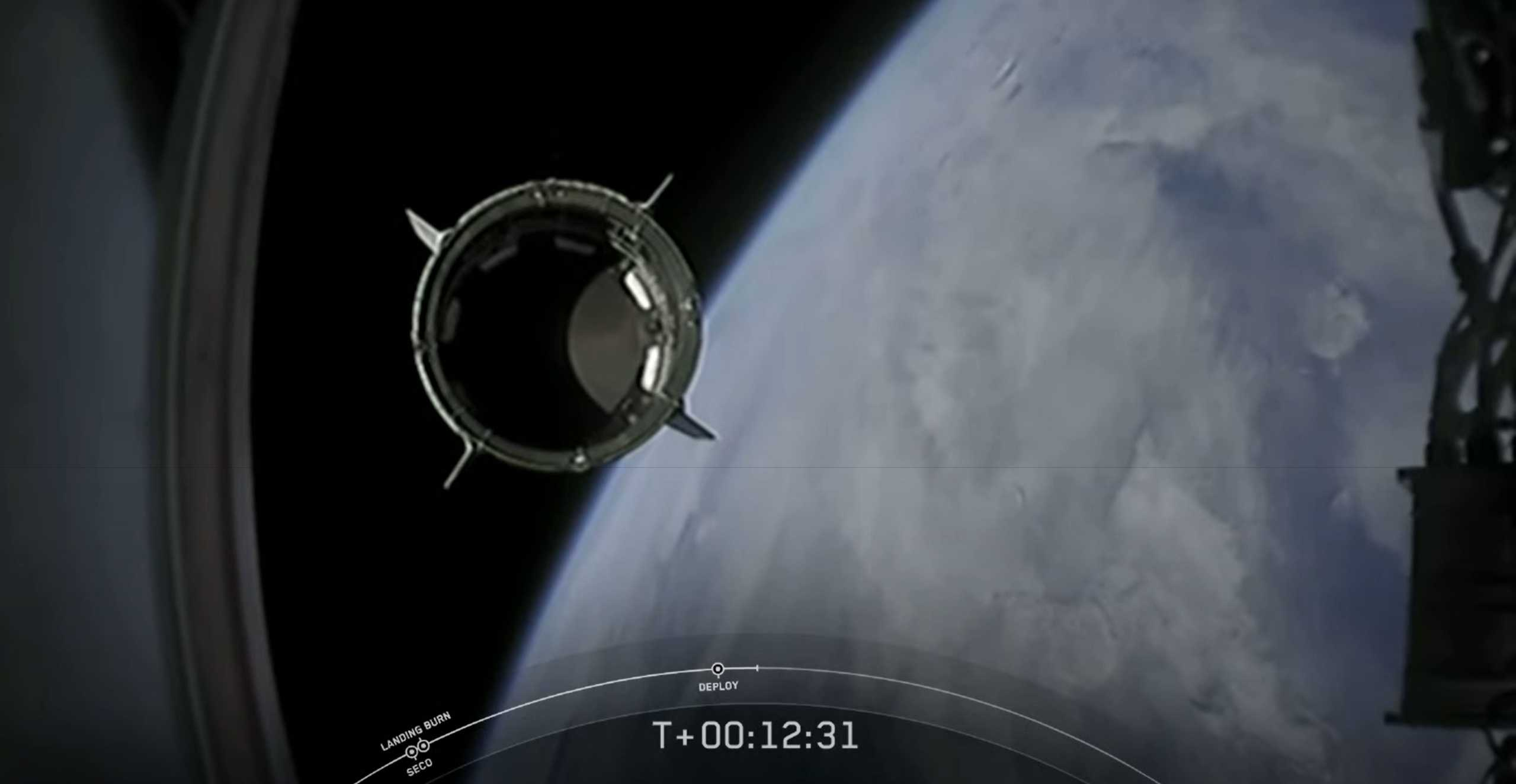 Crew Dragon C206 F9 B1058 Demo-2 053020 webcast (SpaceX) 10 (c)
