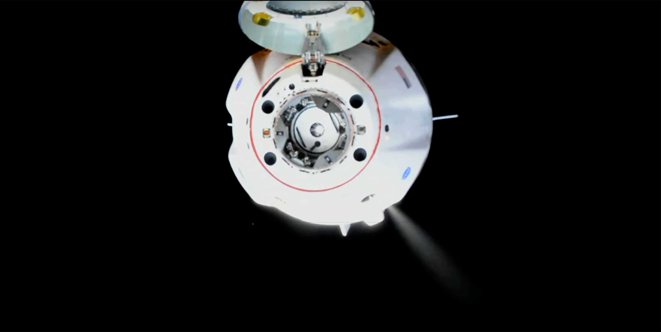Historic SpaceX Capsule 'Endeavour' Docks at The International Space Station
