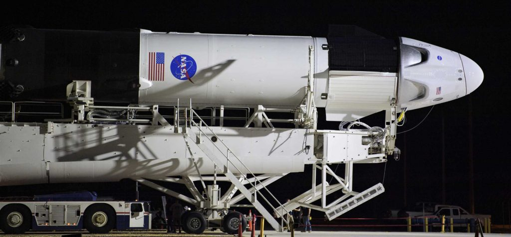 photo of SpaceX gets official 'go' from NASA for upcoming astronaut launch debut image