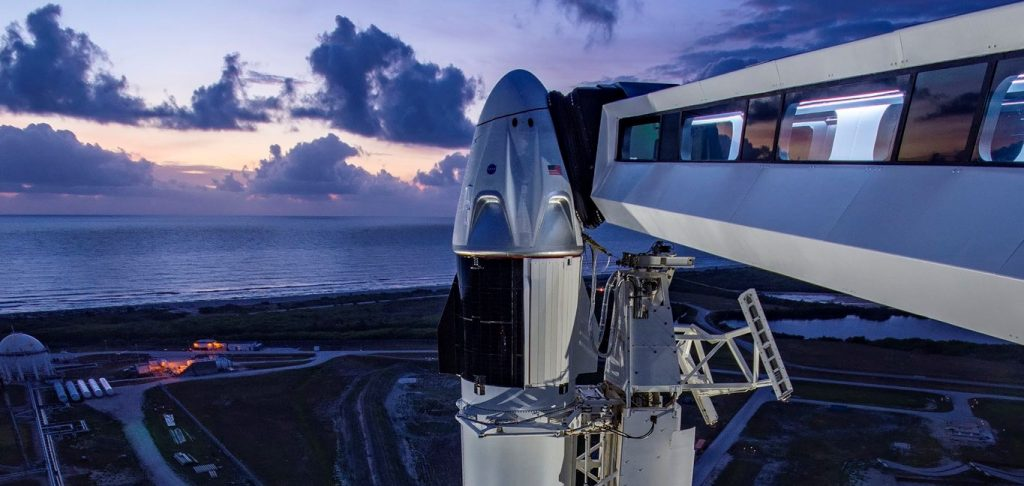 SpaceX's first Starship hop on hold for historic Crew Dragon astronaut launch