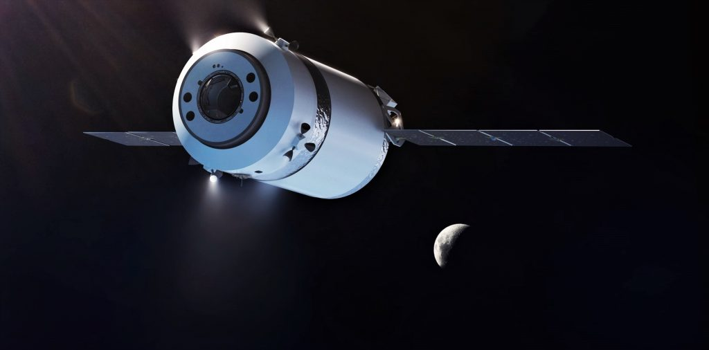 SpaceX Dragon XL could supply NASA astronauts around the Moon and Earth