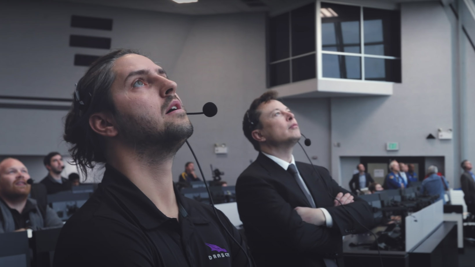 SpaceX Firing Room 4 Elon Musk