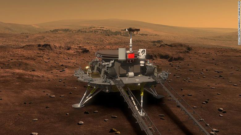 chinese mars robot
