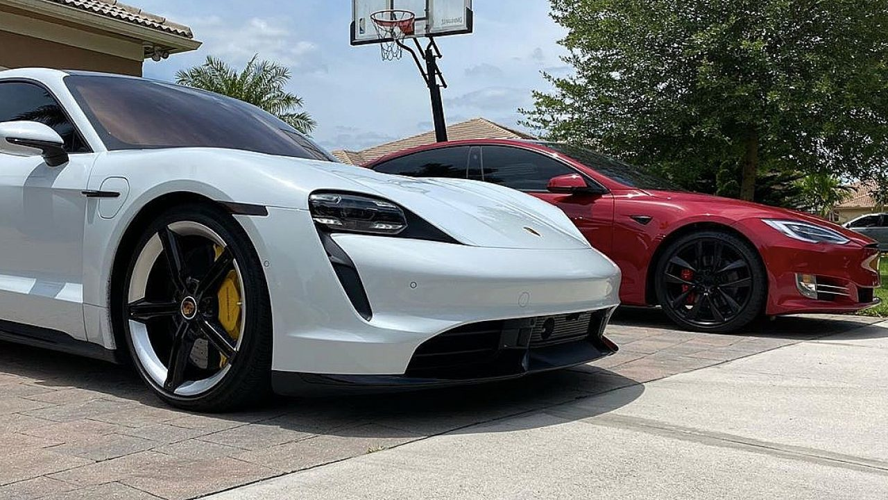 Tesla Model S Vs Porsche Taycan Turbo S Real Road Race Proves Mainstream Tests Were A Joke