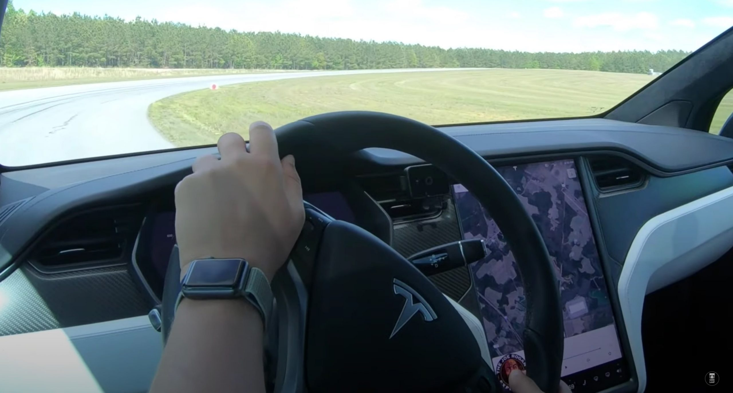 Tesla Model X Performance Raven track-tested