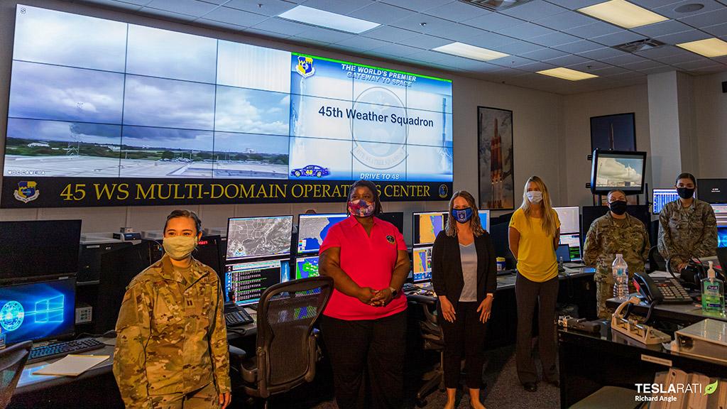 45th Weather Squadron All Female Team Richard Angle