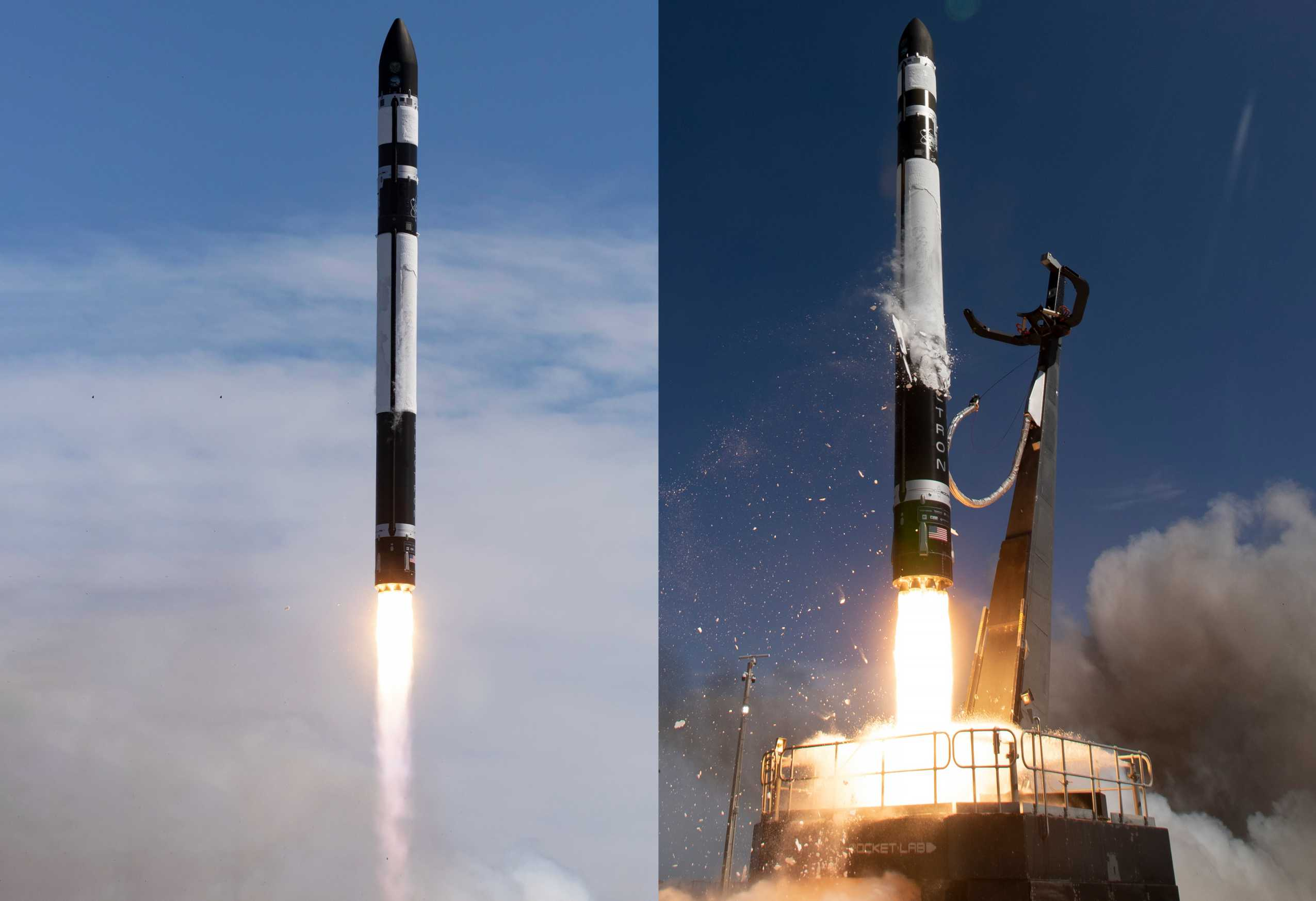 Electron Flight 11 LC-1 013120 (Rocket Lab) launch mosaic 1 (c)
