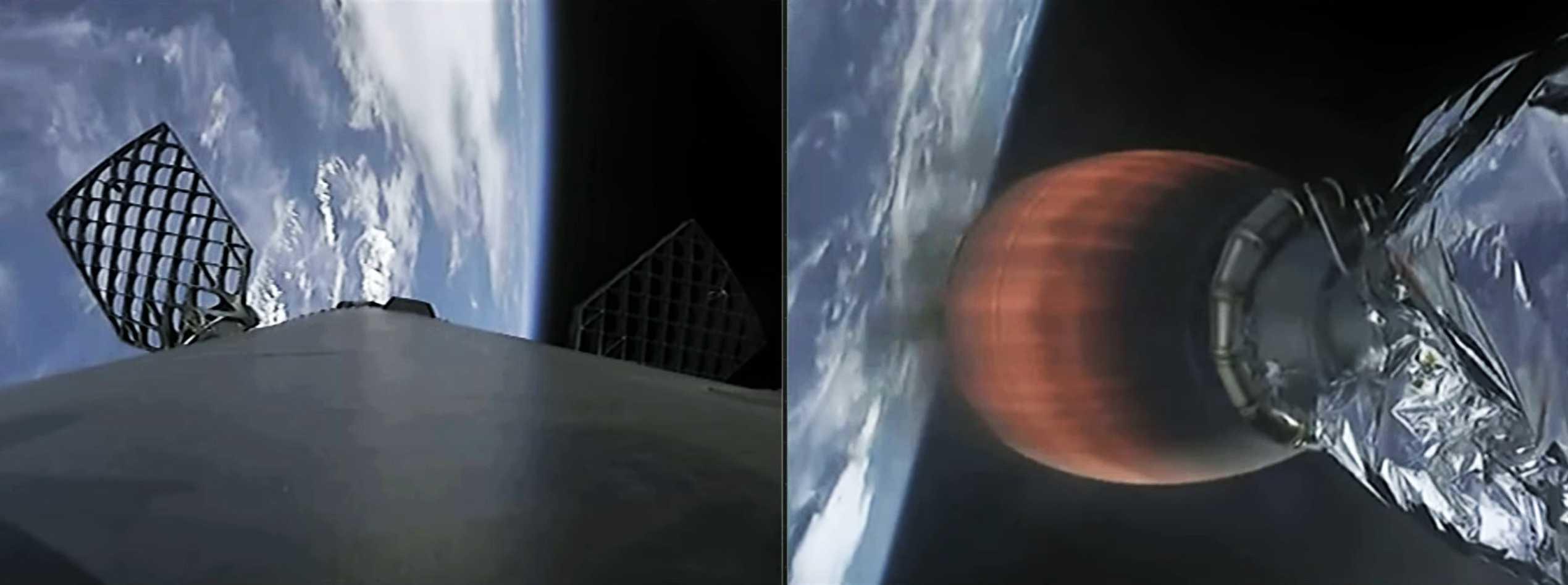GPS III SV03 Falcon 9 B1060 webcast 063020 (SpaceX) 9 (c)