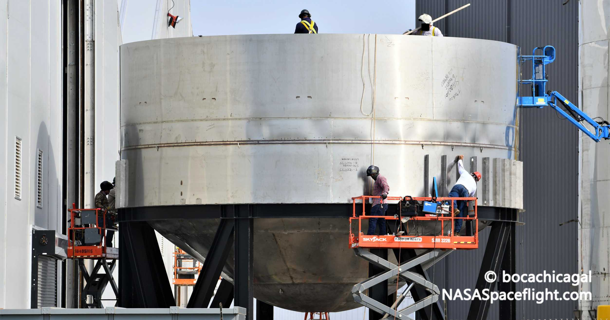 Starship Boca Chica 061020 (NASASpaceflight – bocachicagal) SN7 test tank 3 crop (c)