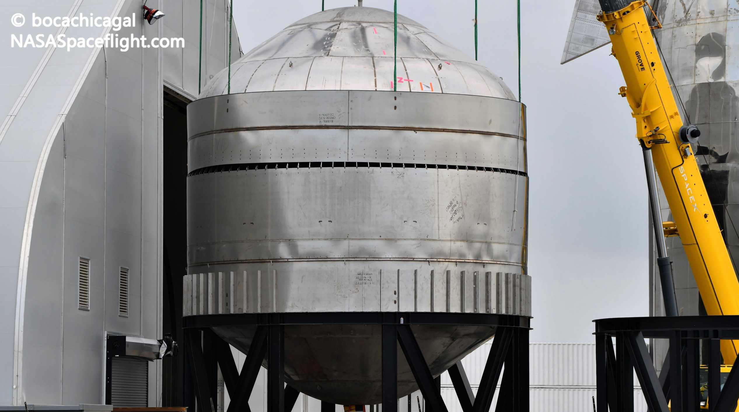 Starship Boca Chica 061020 (NASASpaceflight – bocachicagal) SN7 test tank mate 4 crop (c)