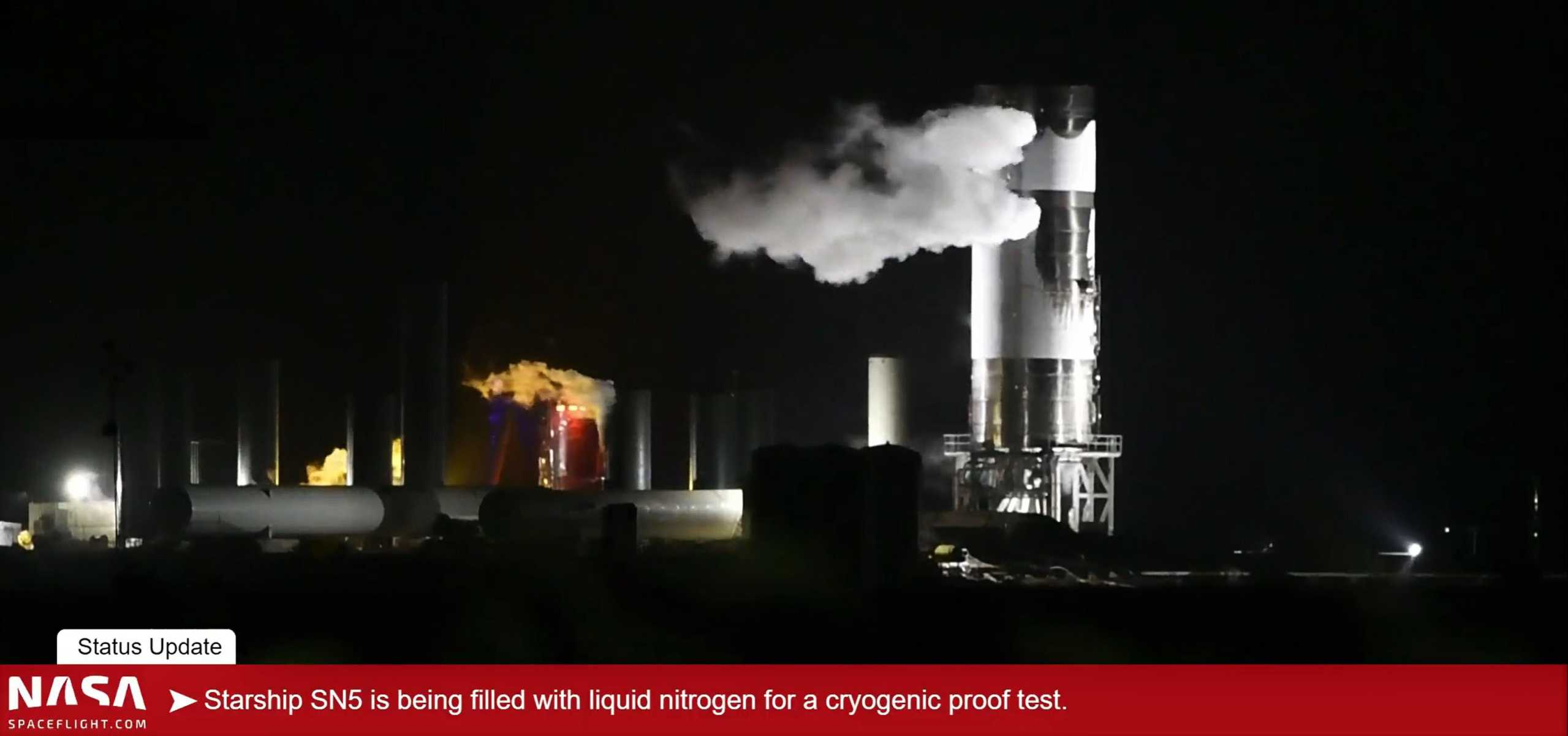 Starship Boca Chica 063020 (NASASpaceflight – bocachicagal) SN5 cryo press test 3 (c)
