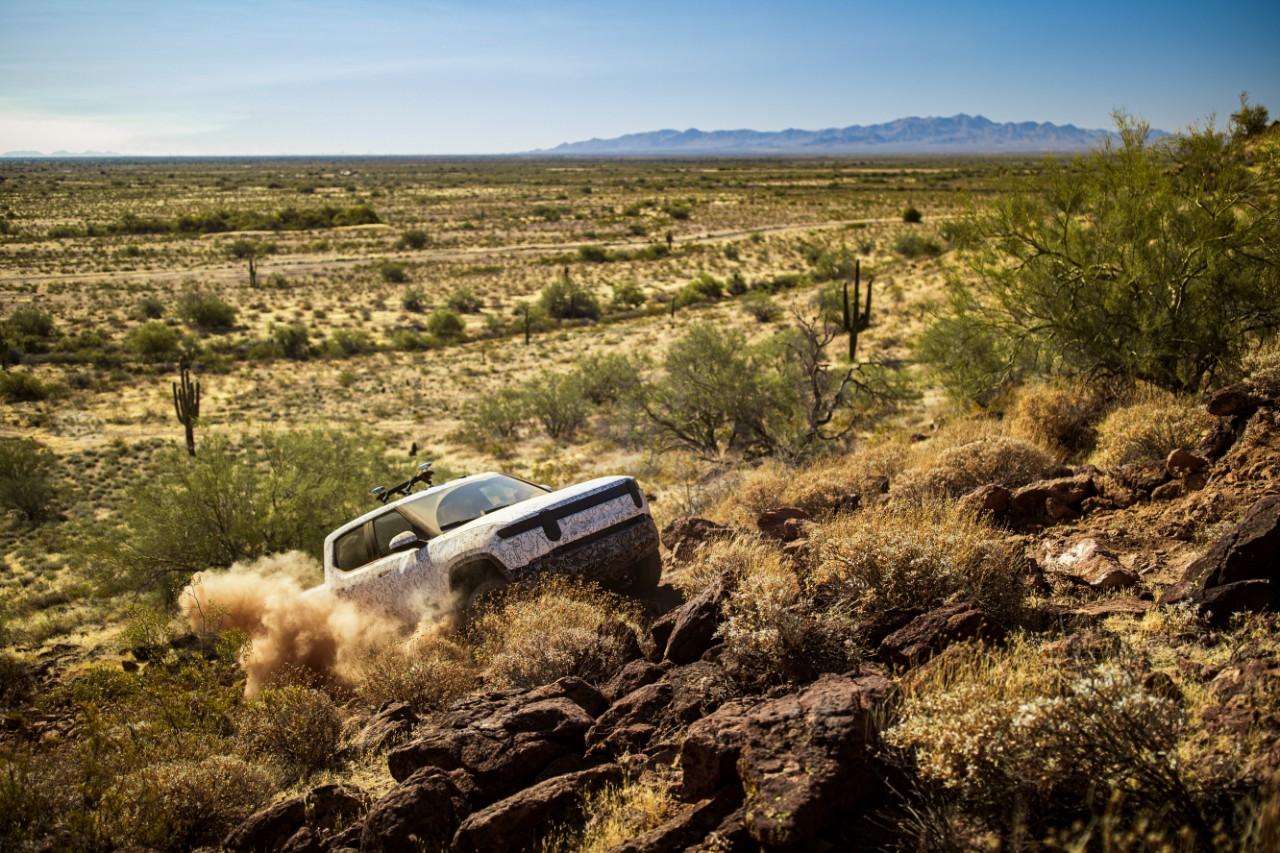 rivian-r1t-off-road-testing
