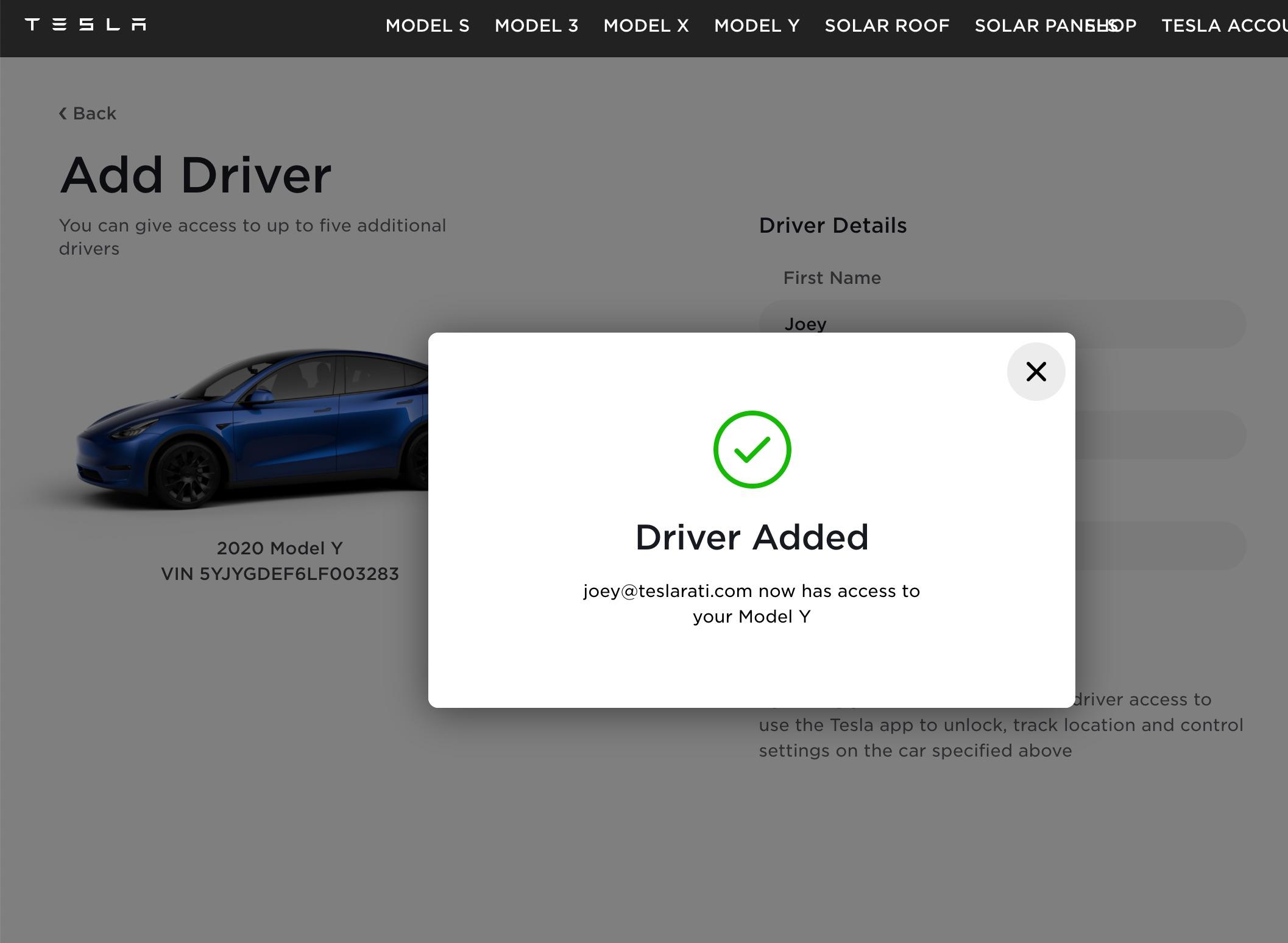 tesla-robotaxi-car-access-invite-confirmation