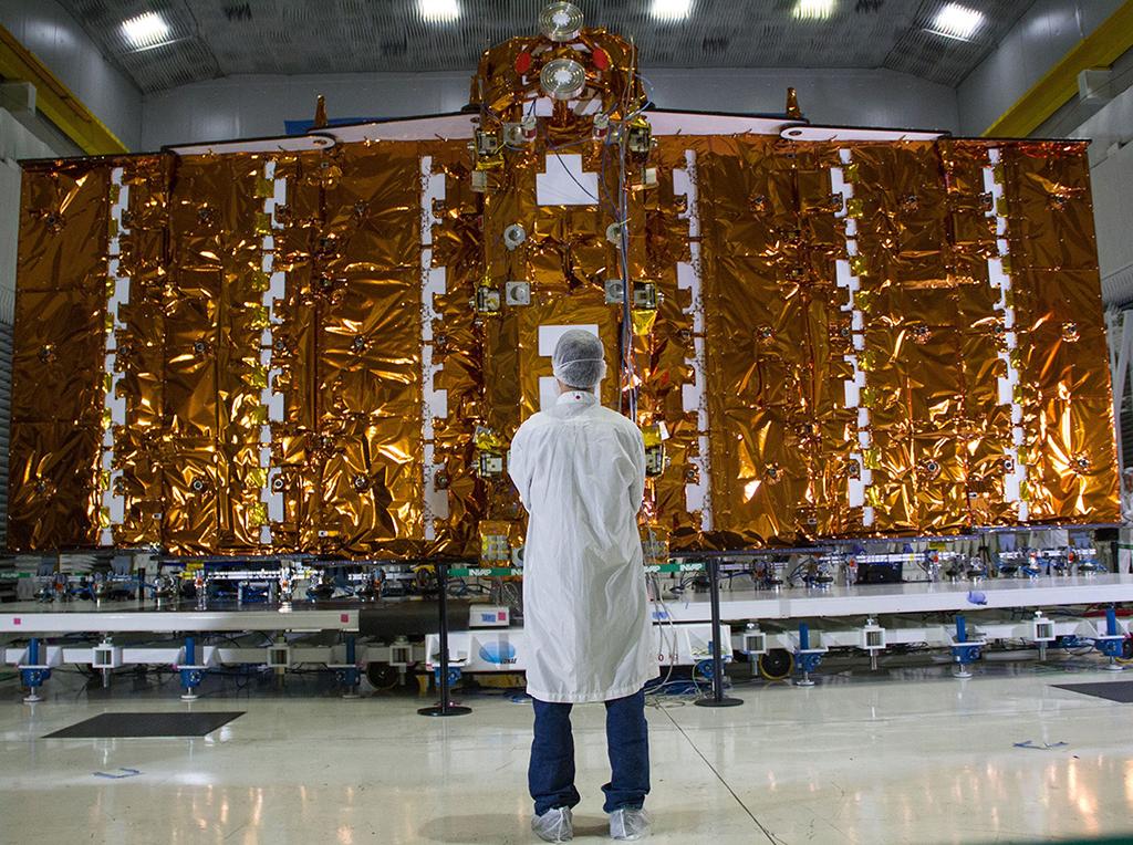 CONAE SAOCOM-1B thermal shields