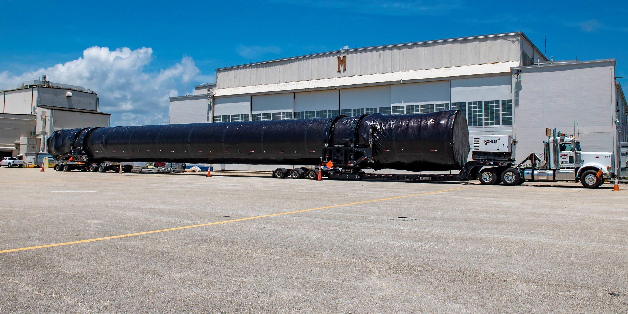 Crew-1 Falcon 9 B1061 FL arrival 071420 (SpaceX) 1 crop