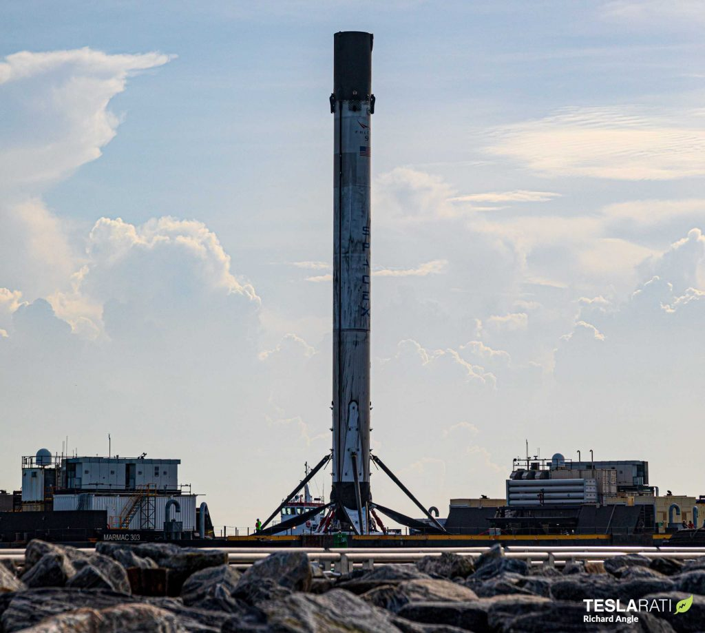 SpaceX rocket launch at Kennedy Space Center scrubbed due to unstable weather