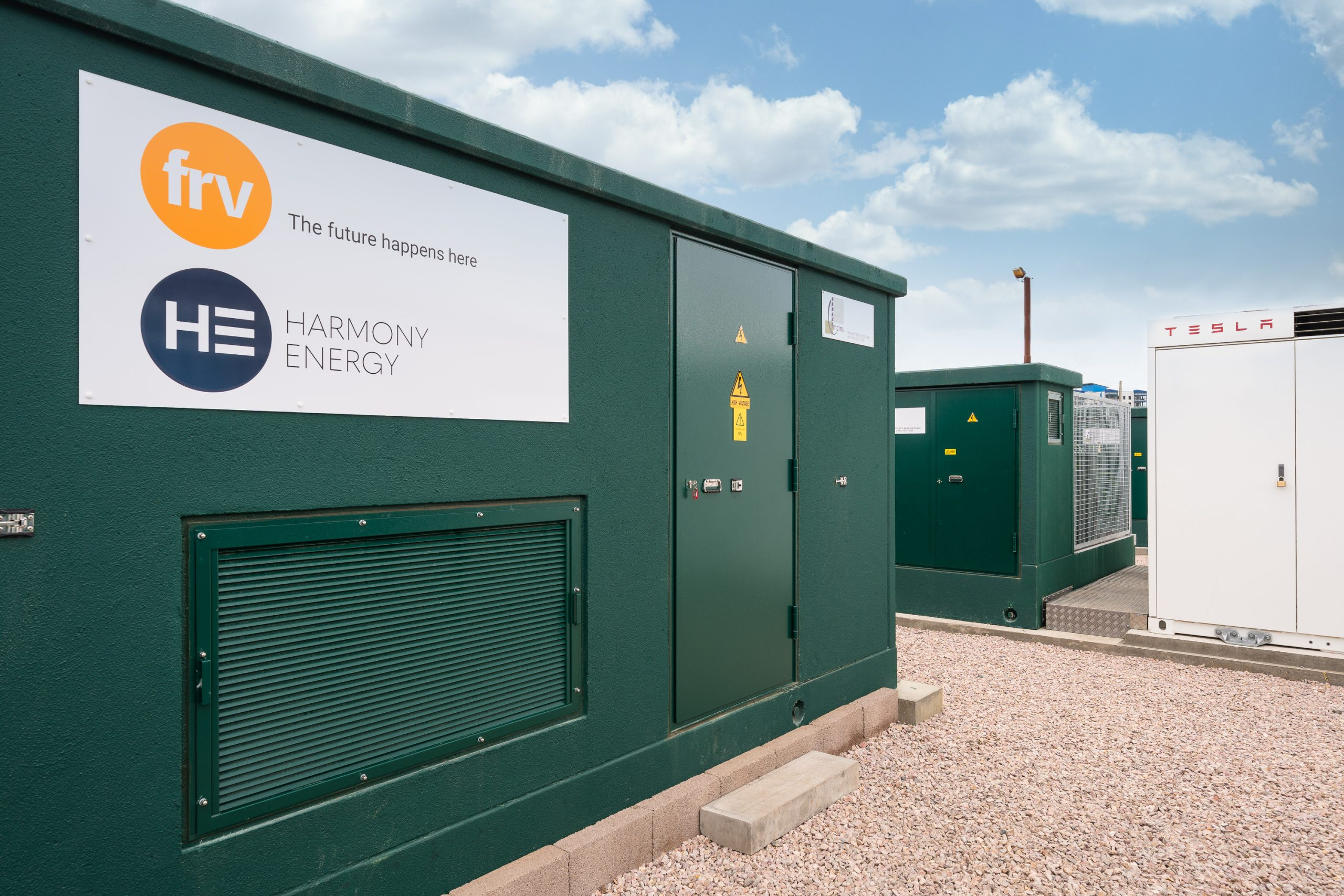 Holes Bay battery energy storage facility – developed by Harmony Energy and FRV with Tesla Megapack batteries