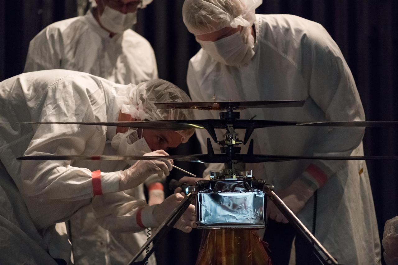 NASA Mars 2020 Ingenuity Helicopter