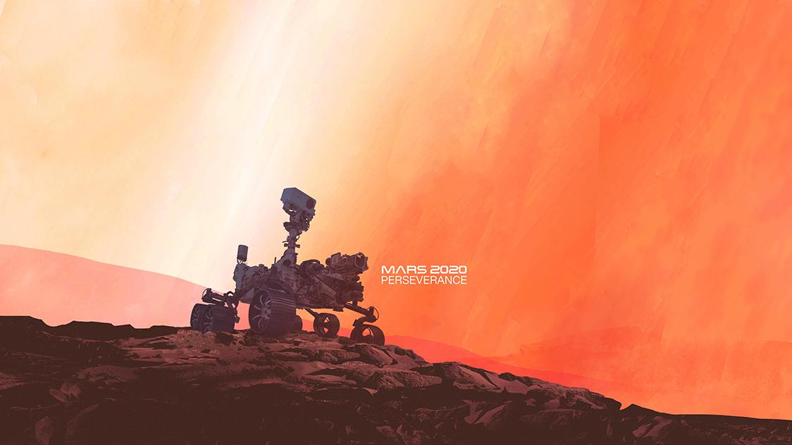 NASA Mars 2020 Perserverance Rover