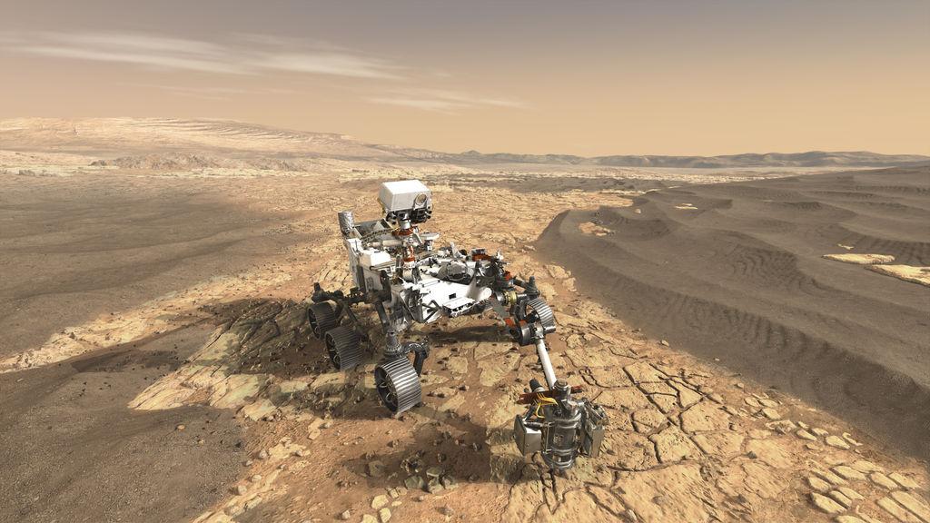 NASA-Perseverence-rover-mars