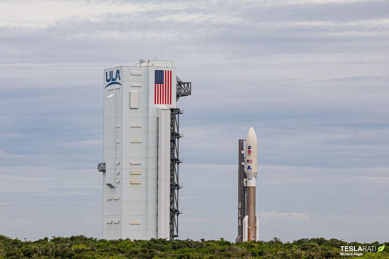 NASA-perseverance-mars-rover-rollout_Richard-Angle_teslarati-6