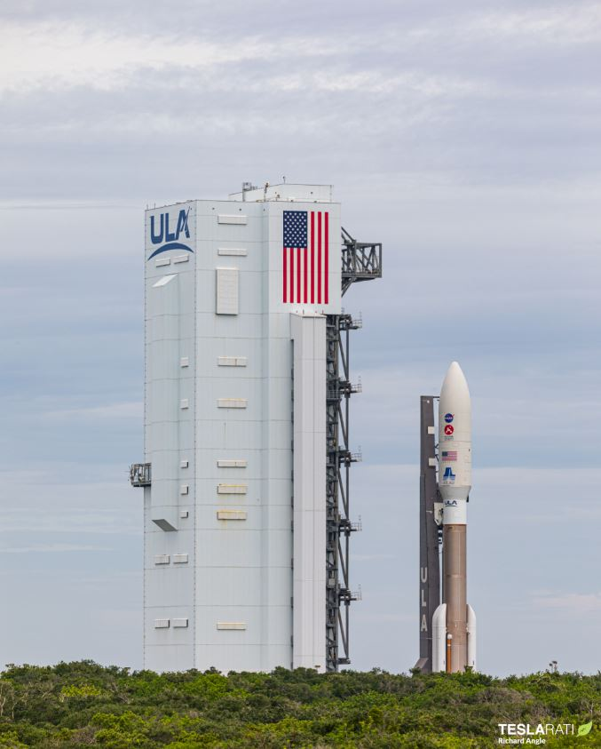 NASA-perseverance-mars-rover-rollout_Richard-Angle_teslarati-7
