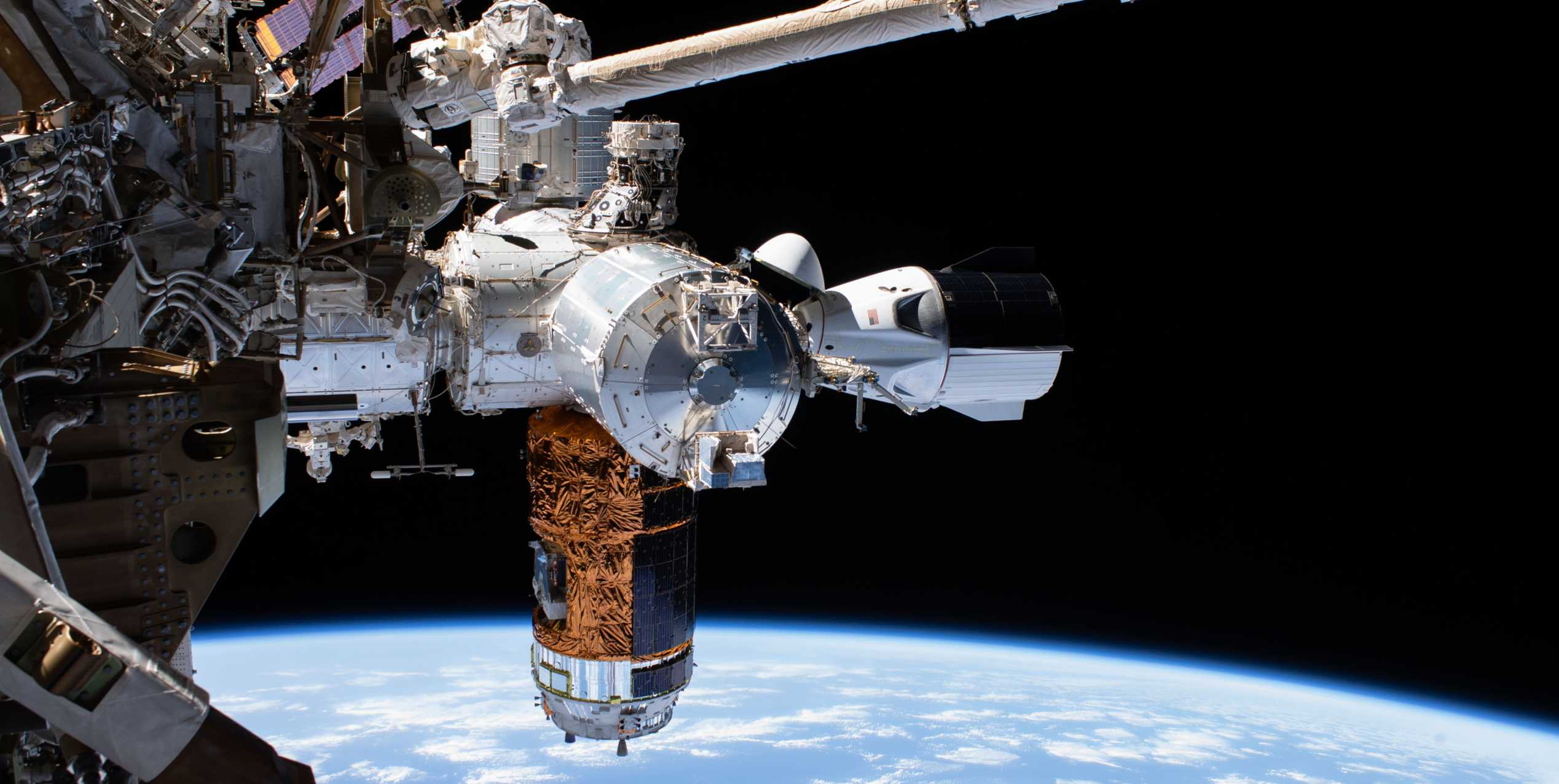 SpaceX Crew Dragon C206 Demo-2 ISS spacewalk 070120 (NASA) 1 crop 1 (c)