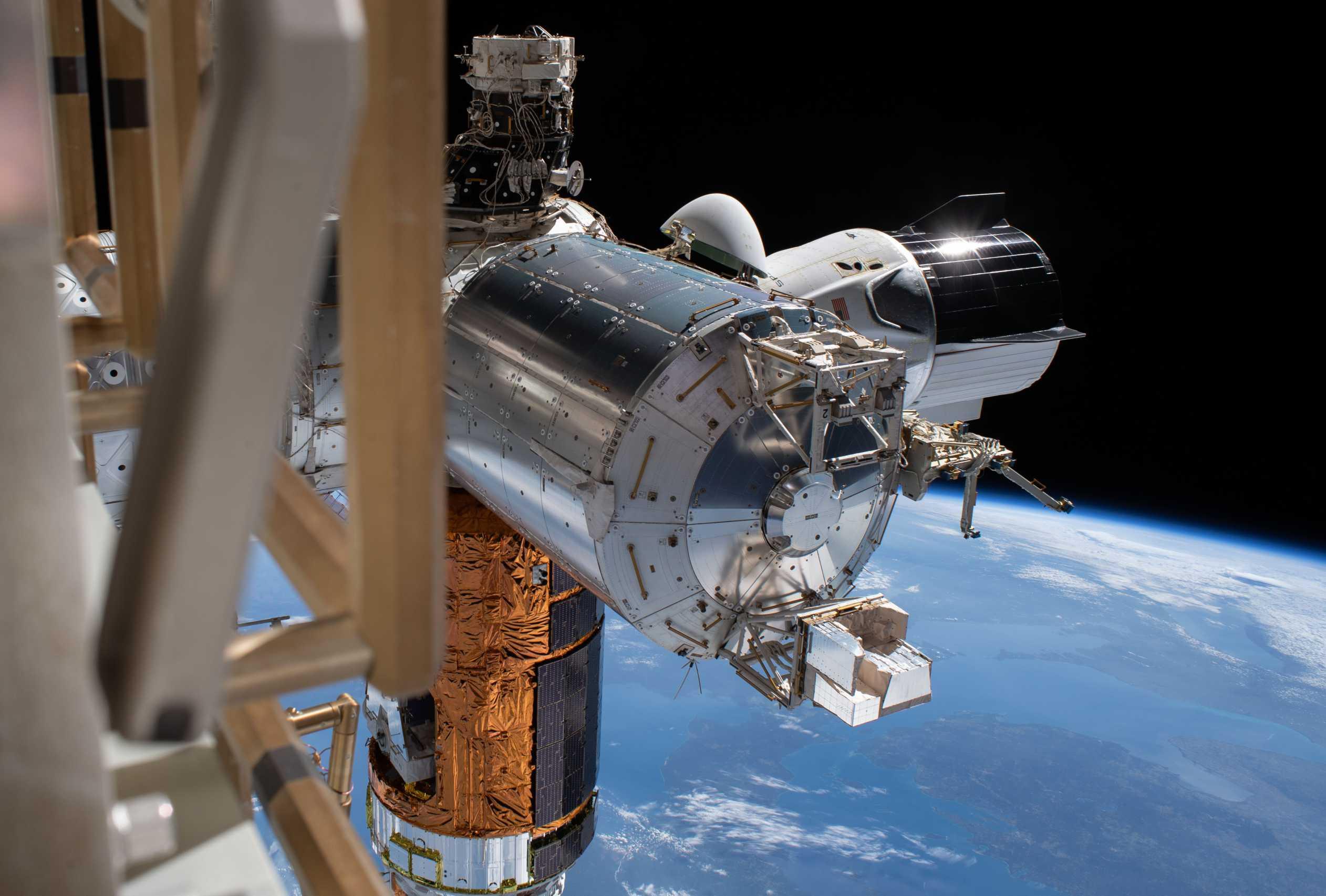 SpaceX Crew Dragon C206 Demo-2 ISS spacewalk 070120 (NASA) 2 crop 1 (c)