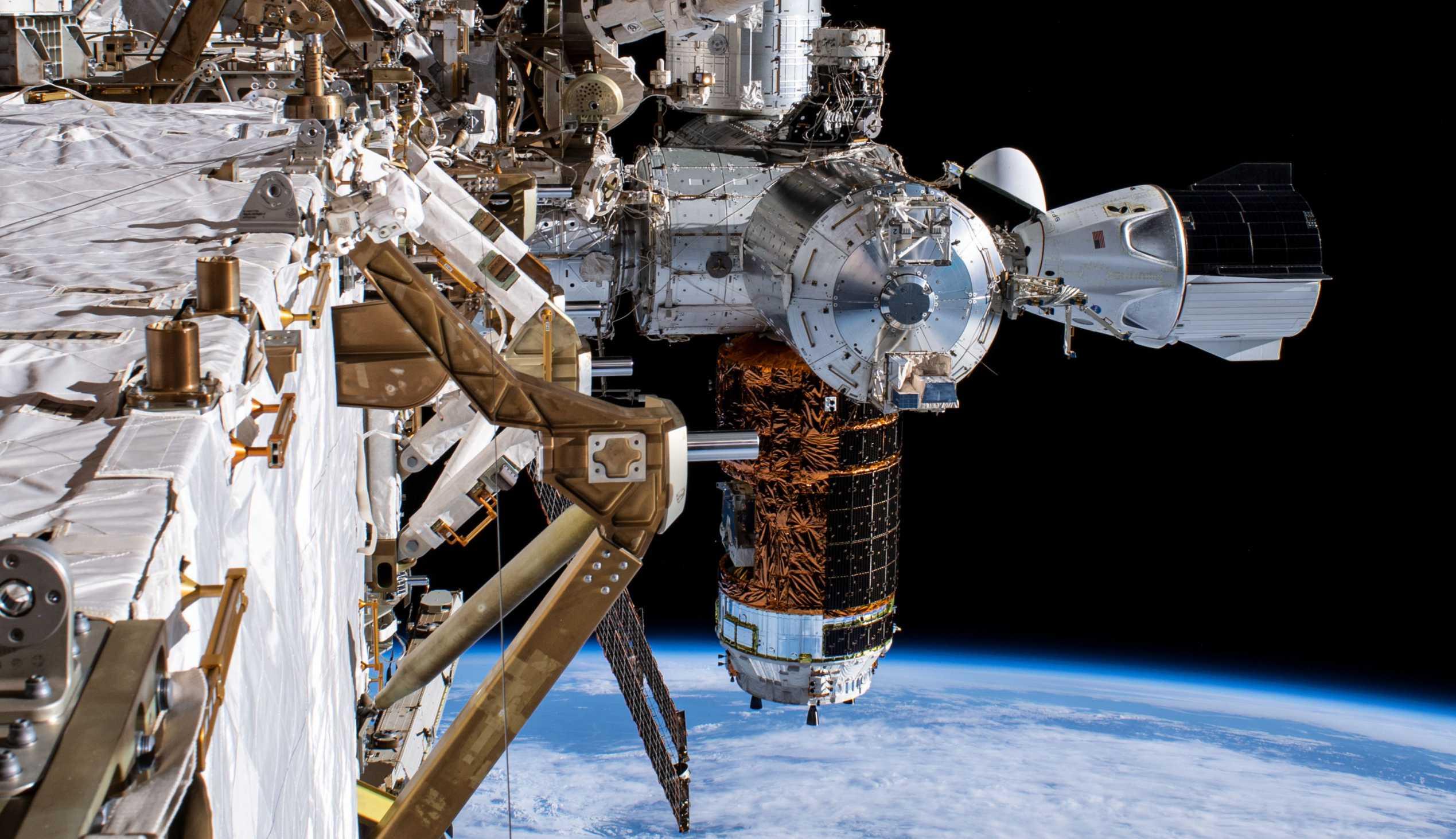 SpaceX Crew Dragon C206 Demo-2 ISS spacewalk 070120 (NASA) 3 crop 1 (c)