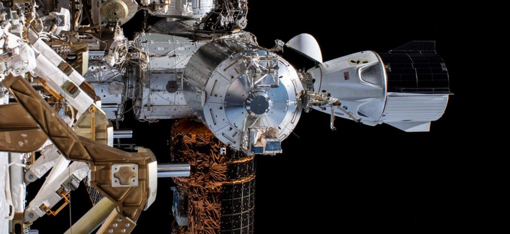 photo of SpaceX set for historic Crew Dragon astronaut mission with splashdown from space image