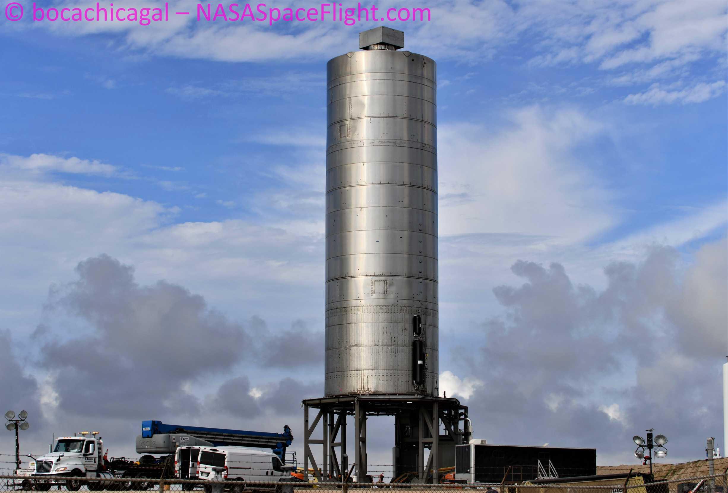 Starship Boca Chica 072420 (NASASpaceflight – bocachicagal) SN5 pad work 2 (c)