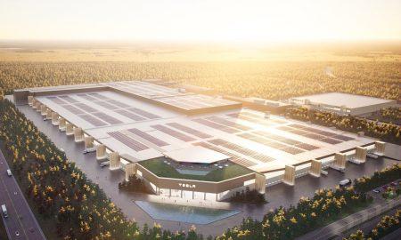 Tesla Gigafactory Berlin render (Credit: Tesla)