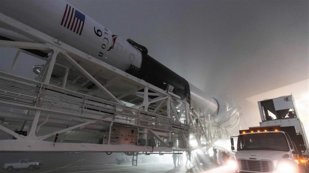 SpaceX rocket booster heads west for first California launch in more than a year