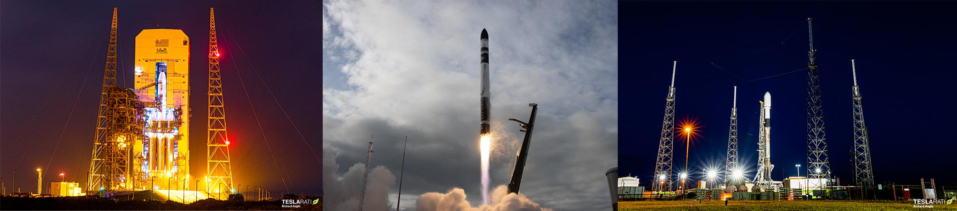 ULA Rocket Lab SpaceX Banner