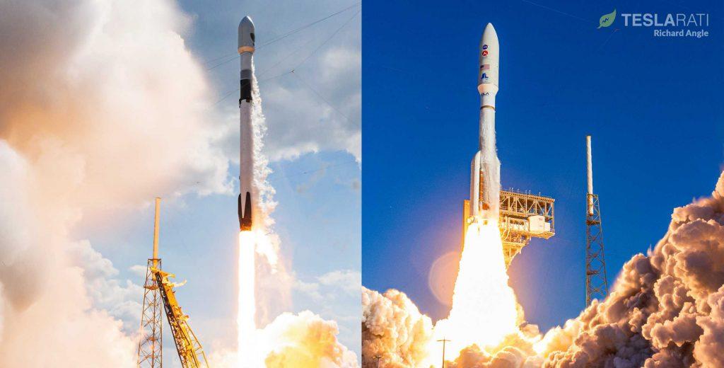 SpaceX Falcon 9, ULA Atlas V rockets win dual satellite launch contracts