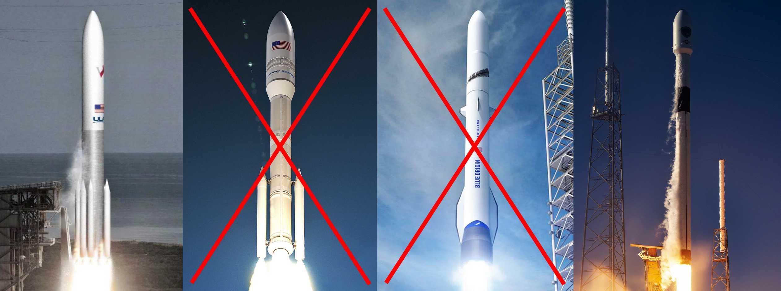 LSA LSP rockets Vulcan Omega New Glenn Falcon (Teslarati) 1 final (c)