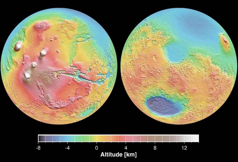 Mars-topography-JPL-NASA
