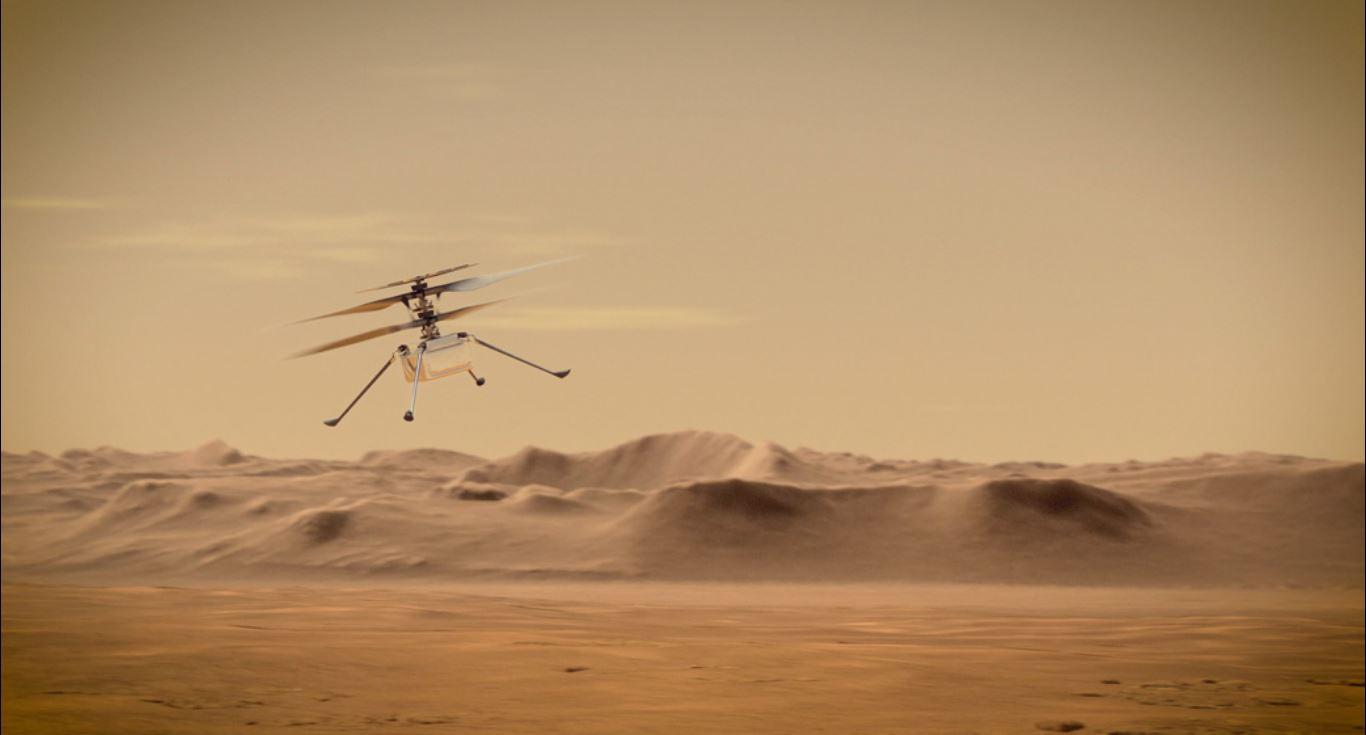 NASA-Ingenuity-helicopter
