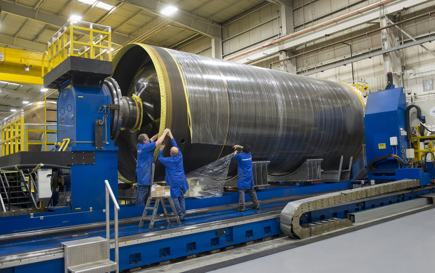 Omega first stage casing (NIGS – OATK) 3
