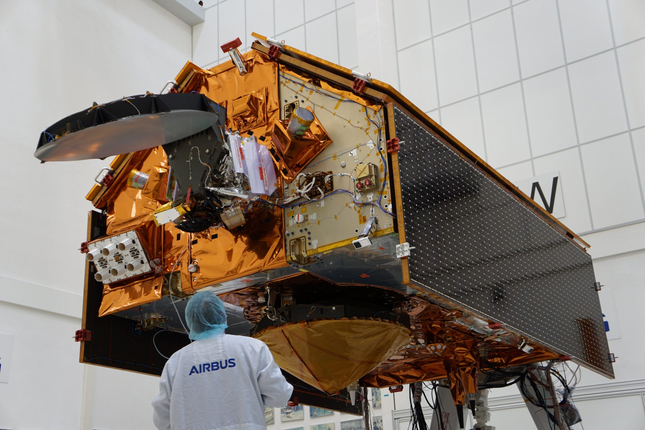 Sentinel 6A integrated testing 111519 (Airbus) 1