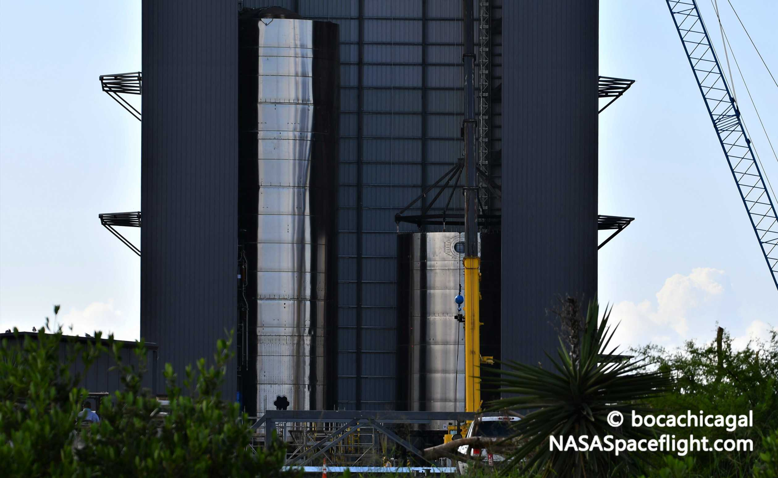 Spacex S Next Starship Starts To Take Shape As Elon Musk