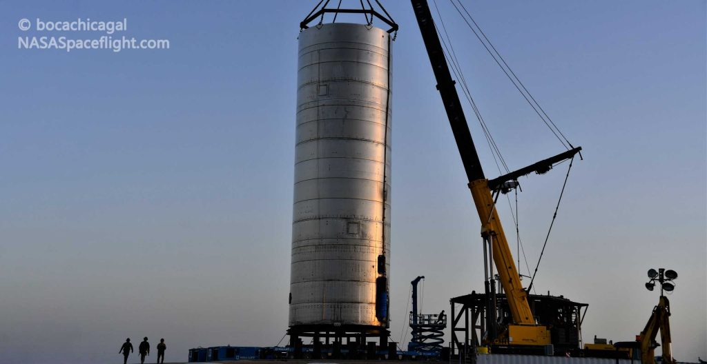 SpaceX rolls next Starship prototype to the launch pad