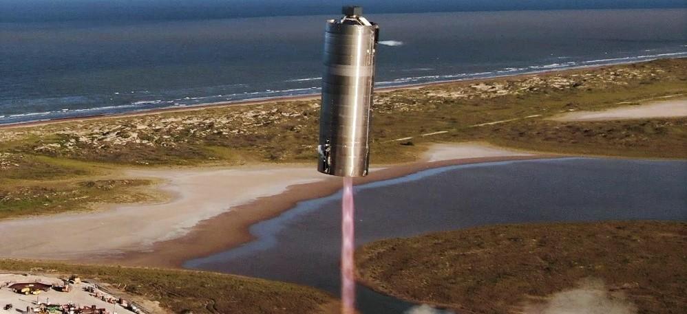 Starship SN5 hop debut 080420 (SpaceX) 2 crop
