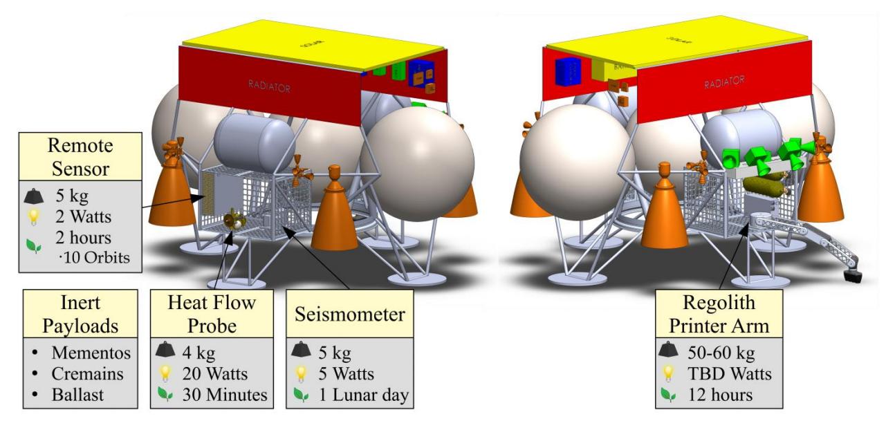 XL-1 lunar lander overview 2019 (Masten Space) 1