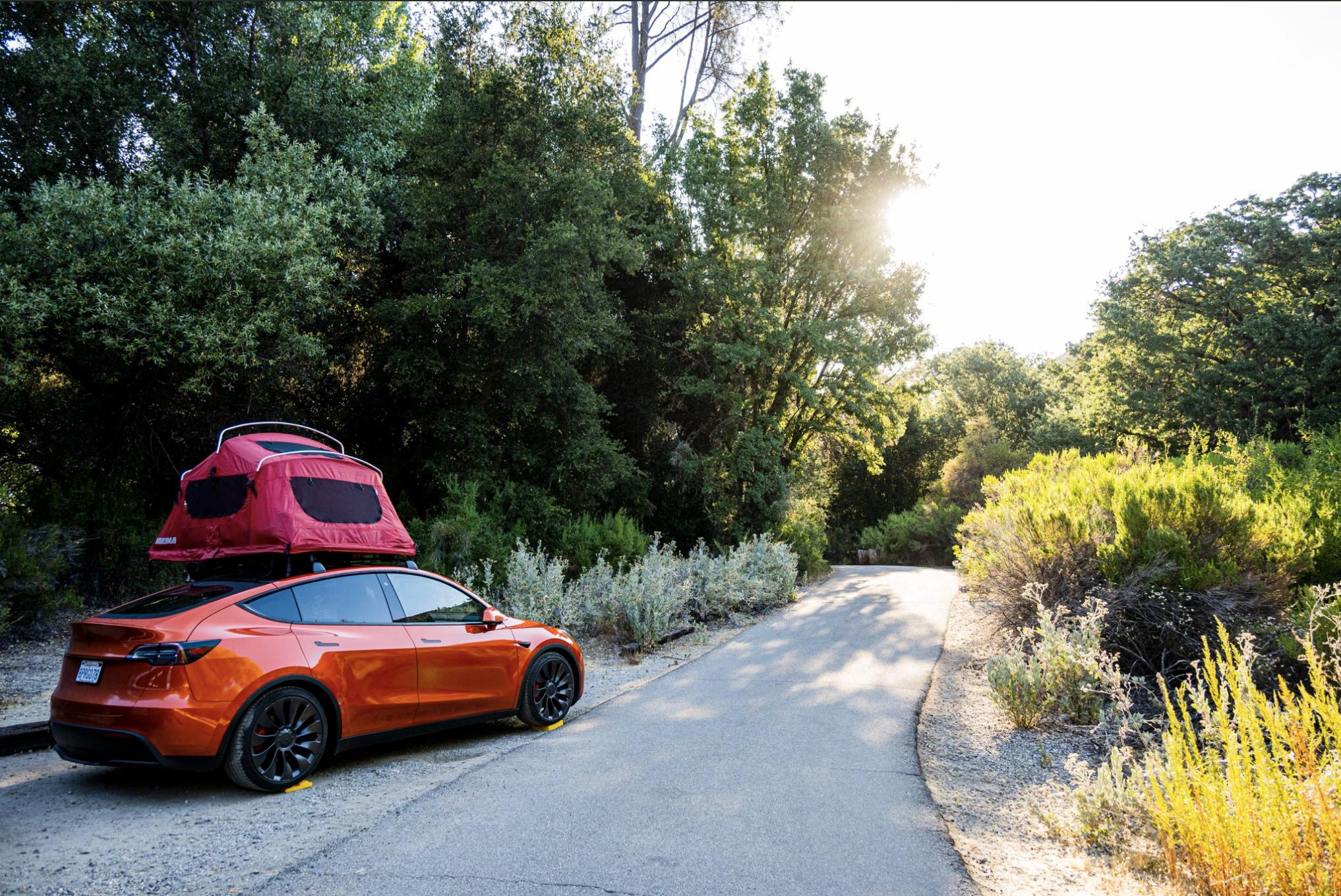 tesla-model-y-camping-road