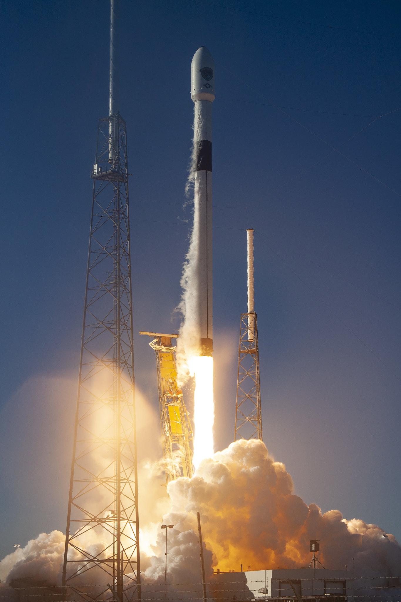 SpaceX Falcon 9 GPS III SV01