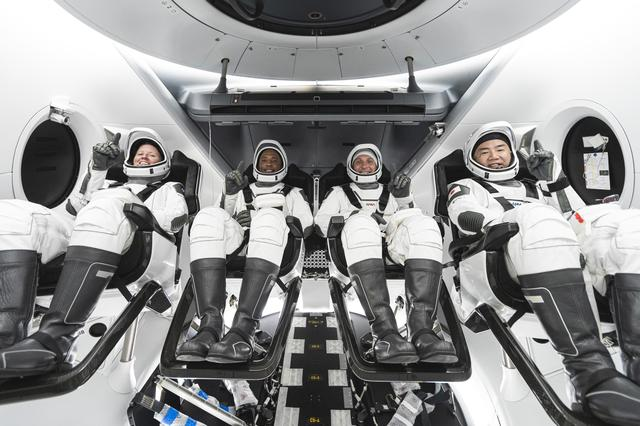 SpaceX Crew Dragon Crew-1 in Crew Dragon
